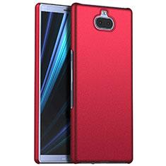 Handyhülle Hülle Kunststoff Schutzhülle Tasche Matt M01 für Sony Xperia 10 Plus Rot