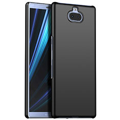 Handyhülle Hülle Kunststoff Schutzhülle Tasche Matt M01 für Sony Xperia 10 Schwarz