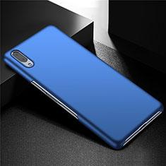 Handyhülle Hülle Kunststoff Schutzhülle Tasche Matt M01 für Sony Xperia L3 Blau