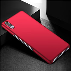 Handyhülle Hülle Kunststoff Schutzhülle Tasche Matt M01 für Sony Xperia L3 Rot
