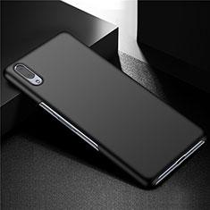 Handyhülle Hülle Kunststoff Schutzhülle Tasche Matt M01 für Sony Xperia L3 Schwarz