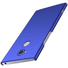 Handyhülle Hülle Kunststoff Schutzhülle Tasche Matt M01 für Sony Xperia XA2 Plus Blau
