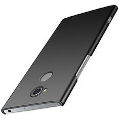 Handyhülle Hülle Kunststoff Schutzhülle Tasche Matt M01 für Sony Xperia XA2 Plus Schwarz
