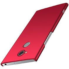 Handyhülle Hülle Kunststoff Schutzhülle Tasche Matt M01 für Sony Xperia XA2 Rot