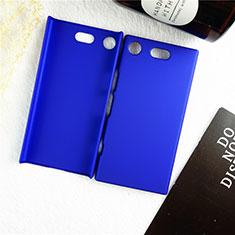 Handyhülle Hülle Kunststoff Schutzhülle Tasche Matt M01 für Sony Xperia XZ1 Compact Blau