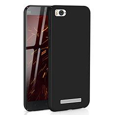 Handyhülle Hülle Kunststoff Schutzhülle Tasche Matt M01 für Xiaomi Mi 4i Schwarz