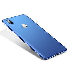 Handyhülle Hülle Kunststoff Schutzhülle Tasche Matt M01 für Xiaomi Mi 8 Blau