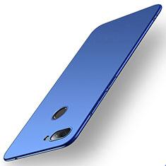 Handyhülle Hülle Kunststoff Schutzhülle Tasche Matt M01 für Xiaomi Mi 8 Lite Blau