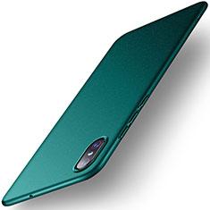 Handyhülle Hülle Kunststoff Schutzhülle Tasche Matt M01 für Xiaomi Mi 8 Pro Global Version Grün