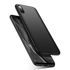Handyhülle Hülle Kunststoff Schutzhülle Tasche Matt M01 für Xiaomi Mi 8 Screen Fingerprint Edition Schwarz