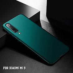 Handyhülle Hülle Kunststoff Schutzhülle Tasche Matt M01 für Xiaomi Mi 9 Grün