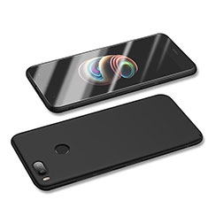 Handyhülle Hülle Kunststoff Schutzhülle Tasche Matt M01 für Xiaomi Mi A1 Schwarz