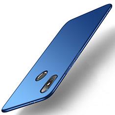 Handyhülle Hülle Kunststoff Schutzhülle Tasche Matt M01 für Xiaomi Mi A2 Blau