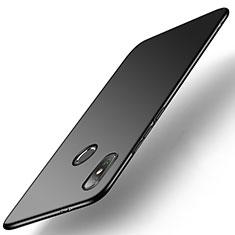 Handyhülle Hülle Kunststoff Schutzhülle Tasche Matt M01 für Xiaomi Mi A2 Schwarz