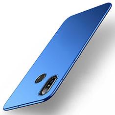 Handyhülle Hülle Kunststoff Schutzhülle Tasche Matt M01 für Xiaomi Mi Max 3 Blau