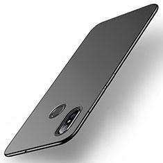Handyhülle Hülle Kunststoff Schutzhülle Tasche Matt M01 für Xiaomi Mi Max 3 Schwarz