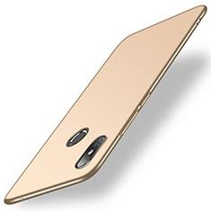 Handyhülle Hülle Kunststoff Schutzhülle Tasche Matt M01 für Xiaomi Mi Mix 2S Gold