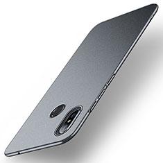 Handyhülle Hülle Kunststoff Schutzhülle Tasche Matt M01 für Xiaomi Mi Mix 3 Grau