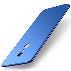 Handyhülle Hülle Kunststoff Schutzhülle Tasche Matt M01 für Xiaomi Redmi 5 Blau
