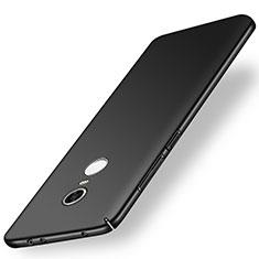 Handyhülle Hülle Kunststoff Schutzhülle Tasche Matt M01 für Xiaomi Redmi 5 Plus Schwarz