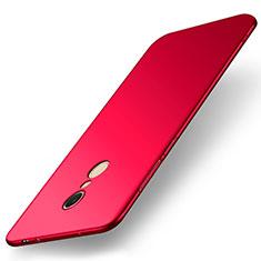 Handyhülle Hülle Kunststoff Schutzhülle Tasche Matt M01 für Xiaomi Redmi 5 Rot