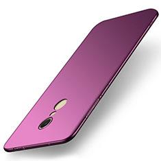Handyhülle Hülle Kunststoff Schutzhülle Tasche Matt M01 für Xiaomi Redmi 5 Violett