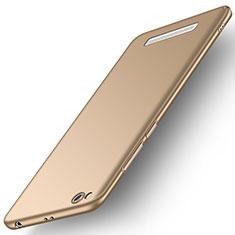 Handyhülle Hülle Kunststoff Schutzhülle Tasche Matt M01 für Xiaomi Redmi 5A Gold