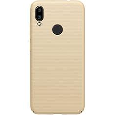 Handyhülle Hülle Kunststoff Schutzhülle Tasche Matt M01 für Xiaomi Redmi 7 Gold
