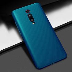 Handyhülle Hülle Kunststoff Schutzhülle Tasche Matt M01 für Xiaomi Redmi K20 Blau