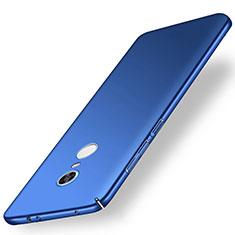 Handyhülle Hülle Kunststoff Schutzhülle Tasche Matt M01 für Xiaomi Redmi Note 5 Indian Version Blau