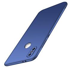 Handyhülle Hülle Kunststoff Schutzhülle Tasche Matt M01 für Xiaomi Redmi Note 5 Pro Blau