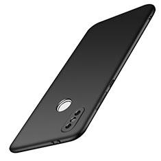 Handyhülle Hülle Kunststoff Schutzhülle Tasche Matt M01 für Xiaomi Redmi Note 5 Pro Schwarz