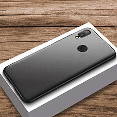 Handyhülle Hülle Kunststoff Schutzhülle Tasche Matt M01 für Xiaomi Redmi Note 7 Schwarz