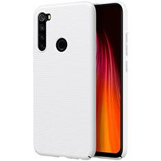 Handyhülle Hülle Kunststoff Schutzhülle Tasche Matt M01 für Xiaomi Redmi Note 8 Weiß