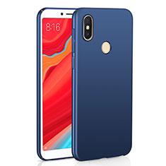 Handyhülle Hülle Kunststoff Schutzhülle Tasche Matt M01 für Xiaomi Redmi S2 Blau