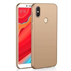 Handyhülle Hülle Kunststoff Schutzhülle Tasche Matt M01 für Xiaomi Redmi S2 Gold