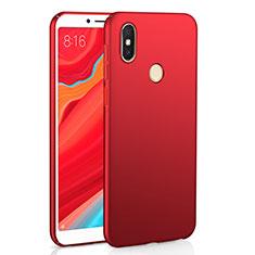 Handyhülle Hülle Kunststoff Schutzhülle Tasche Matt M01 für Xiaomi Redmi S2 Rot