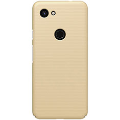 Handyhülle Hülle Kunststoff Schutzhülle Tasche Matt M02 für Google Pixel 3a Gold
