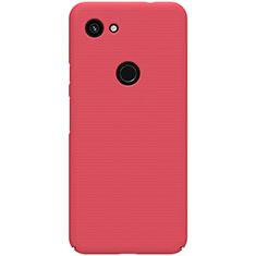 Handyhülle Hülle Kunststoff Schutzhülle Tasche Matt M02 für Google Pixel 3a Rot