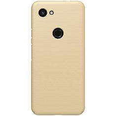 Handyhülle Hülle Kunststoff Schutzhülle Tasche Matt M02 für Google Pixel 3a XL Gold