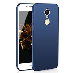 Handyhülle Hülle Kunststoff Schutzhülle Tasche Matt M02 für Huawei Enjoy 6 Blau