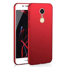Handyhülle Hülle Kunststoff Schutzhülle Tasche Matt M02 für Huawei Enjoy 6 Rot