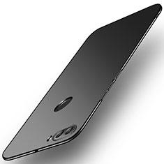 Handyhülle Hülle Kunststoff Schutzhülle Tasche Matt M02 für Huawei Enjoy 8 Plus Schwarz