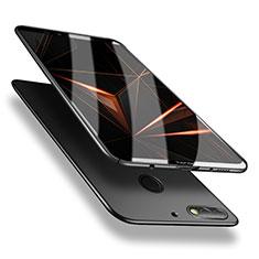 Handyhülle Hülle Kunststoff Schutzhülle Tasche Matt M02 für Huawei Enjoy 8 Schwarz
