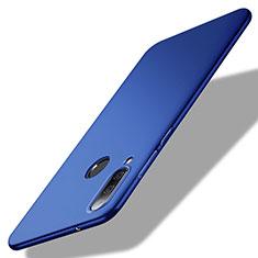 Handyhülle Hülle Kunststoff Schutzhülle Tasche Matt M02 für Huawei Enjoy 9s Blau