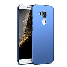 Handyhülle Hülle Kunststoff Schutzhülle Tasche Matt M02 für Huawei G9 Plus Blau