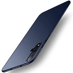 Handyhülle Hülle Kunststoff Schutzhülle Tasche Matt M02 für Huawei Honor 20 Blau
