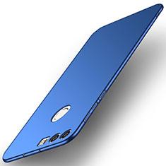Handyhülle Hülle Kunststoff Schutzhülle Tasche Matt M02 für Huawei Honor 8 Blau