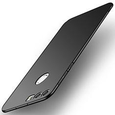 Handyhülle Hülle Kunststoff Schutzhülle Tasche Matt M02 für Huawei Honor 8 Schwarz