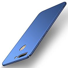 Handyhülle Hülle Kunststoff Schutzhülle Tasche Matt M02 für Huawei Honor V9 Blau